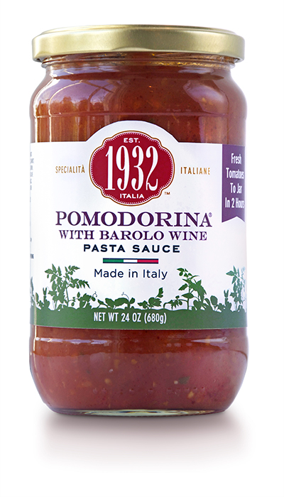 Pomodorina with Barolo Wine