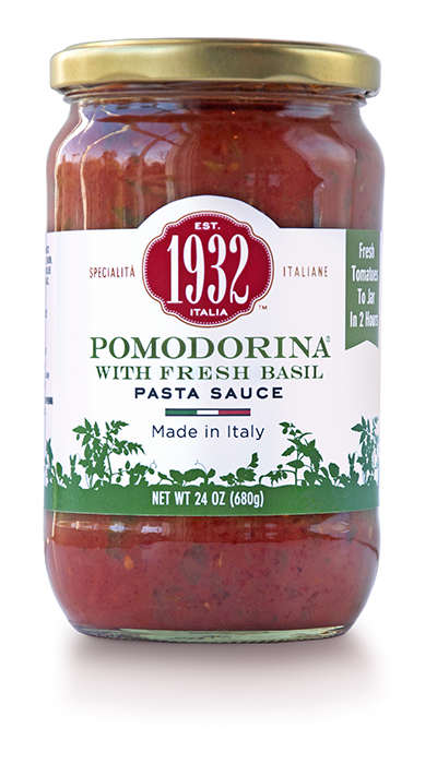 Pomodorina with fresh basil